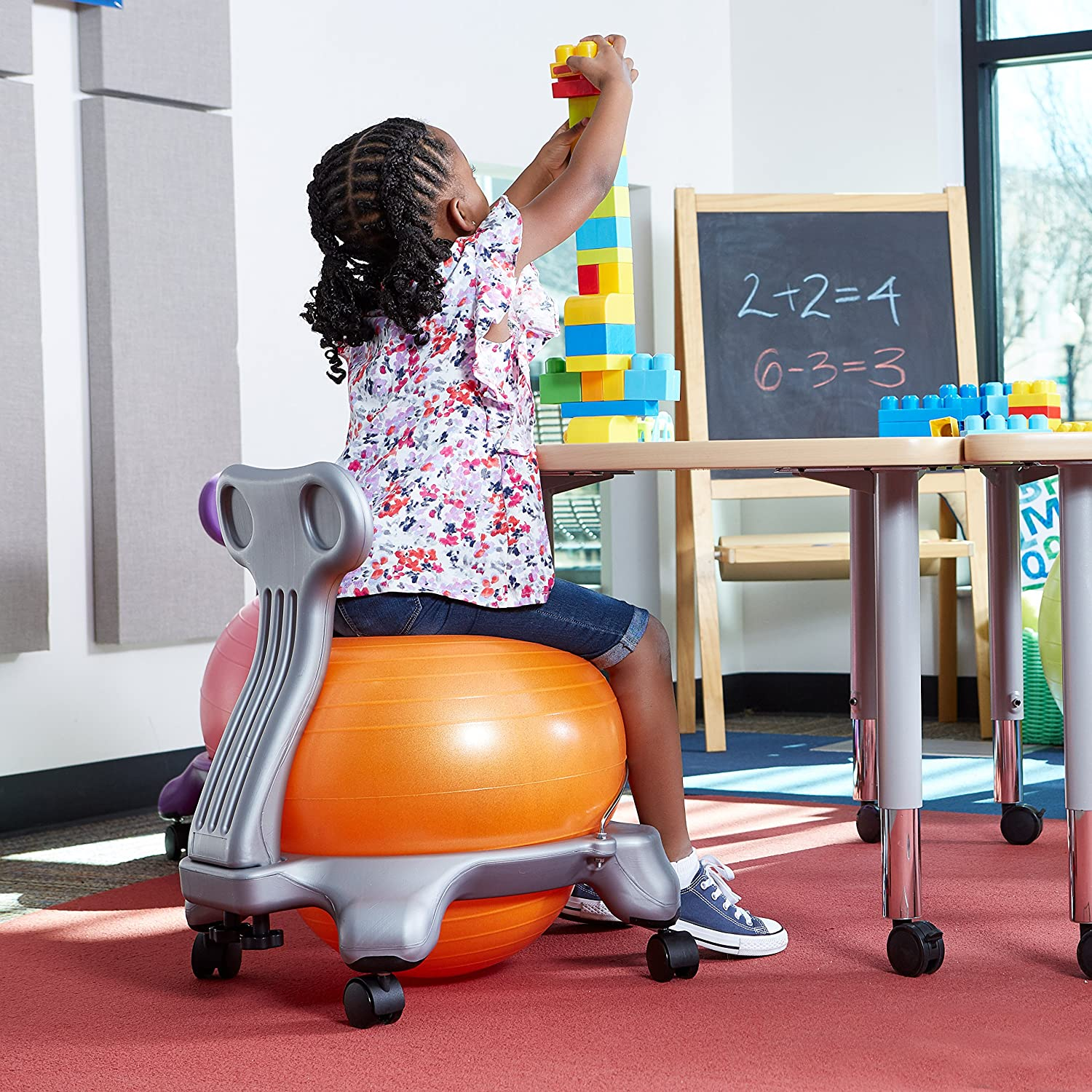 Kids' Balance Ball Chair