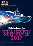 Bitdefender Total Security 2017 | 10 Devices, 2 Year | PC, Mac | Download [Online Code]