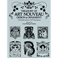 Treasury of Art Nouveau Design & Ornament (Dover Pictorial Archive) (English Edition)