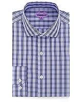 Ferrecci Mens Slim Fit Premium Cotton Dress Shirt - Many Designs