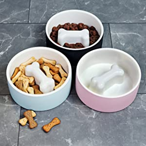 Magisso Happy Pet Project Naturally Cooling Ceramics Food Bowl