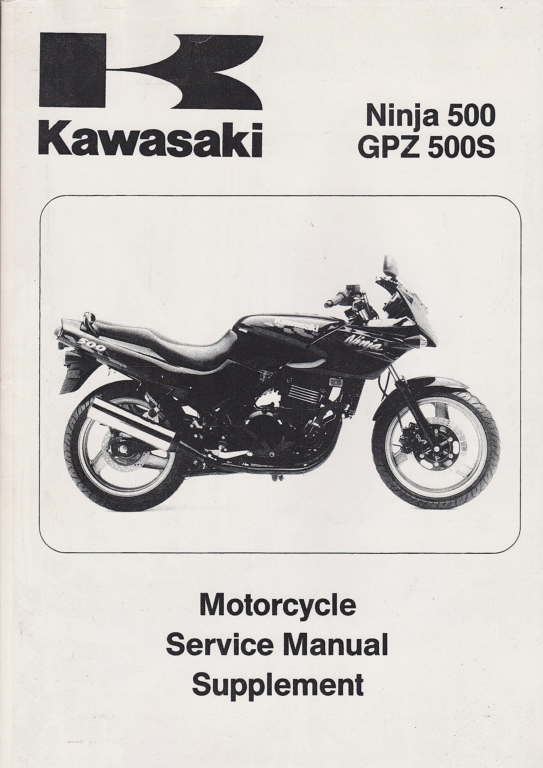 Kawasaki Ninja 500, GPZ 500S Manual, 1994-99, plus ...