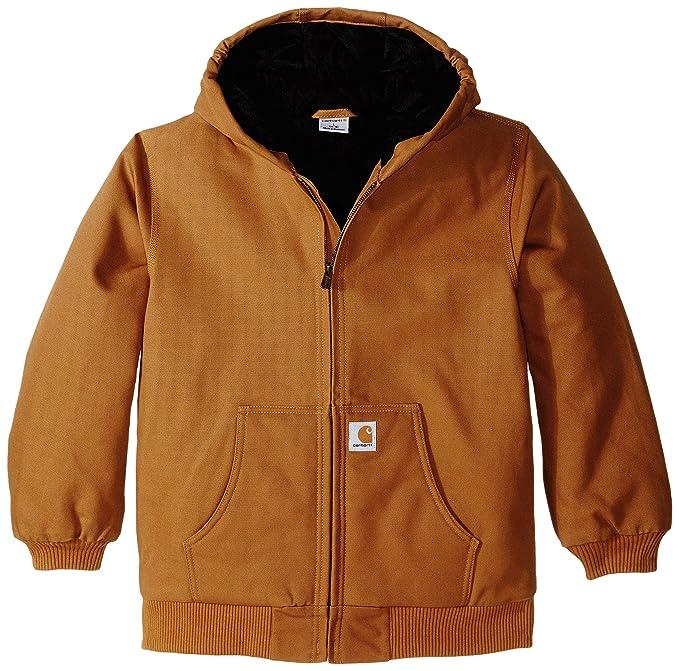 277b5013 Carhartt Big Boys' Active Jacket: Amazon.ca: Clothing & Accessories