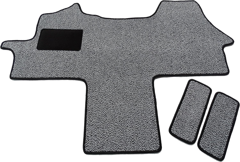 Fahrerhaus Teppich Einstiege 3 Teilig Schmutzfangmatte In 6 Farben Schwarz Weiß Auto