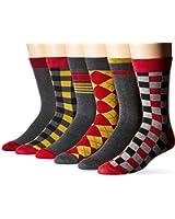 Ben Sherman Men's Six-Pack Phillip Crew Socks