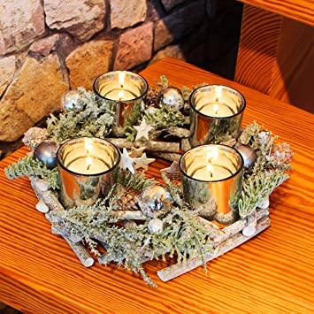 kerzenhalter adventskranz led kerzen frohe weihnachten in europa. Black Bedroom Furniture Sets. Home Design Ideas
