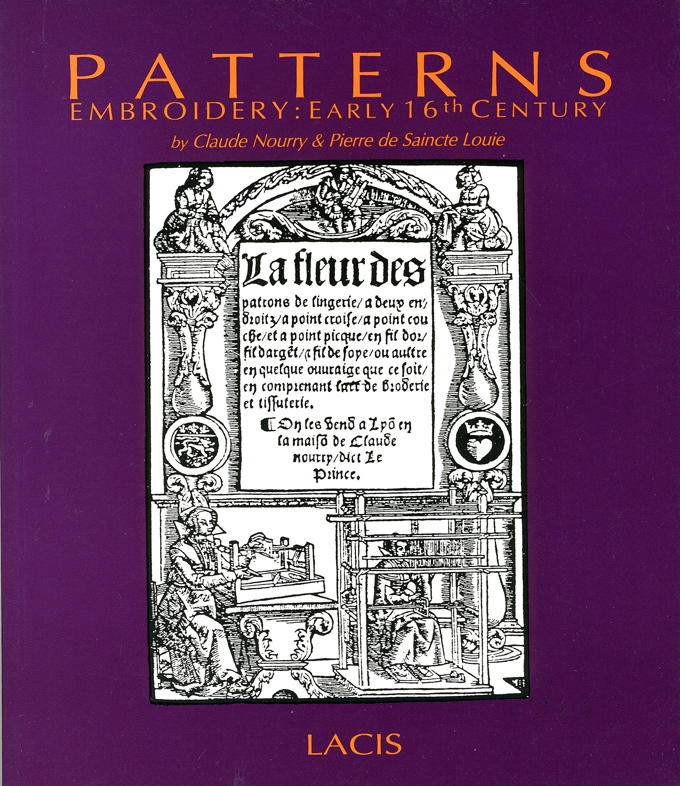 Patterns: Embroidery : early 16th century
