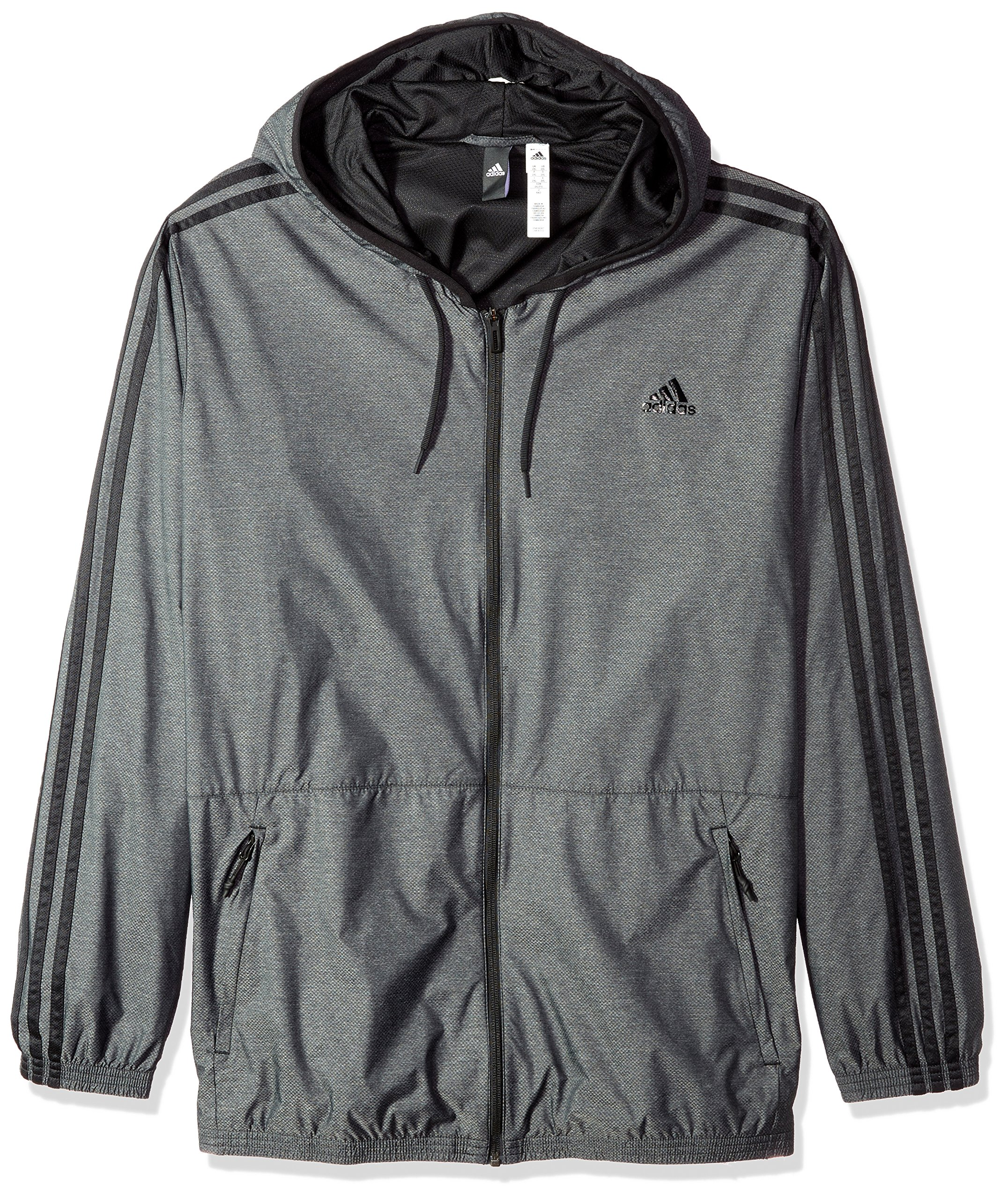 adidas Essentials (Big & Tall) Wind Jacket XLT Black