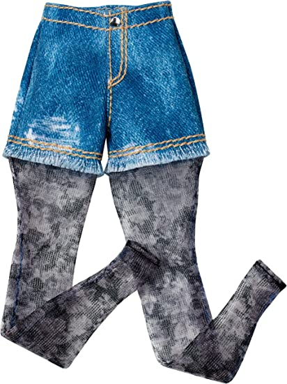 Barbie  Ken Doll  Blue Jean Denim Looking Shorts  Fashion