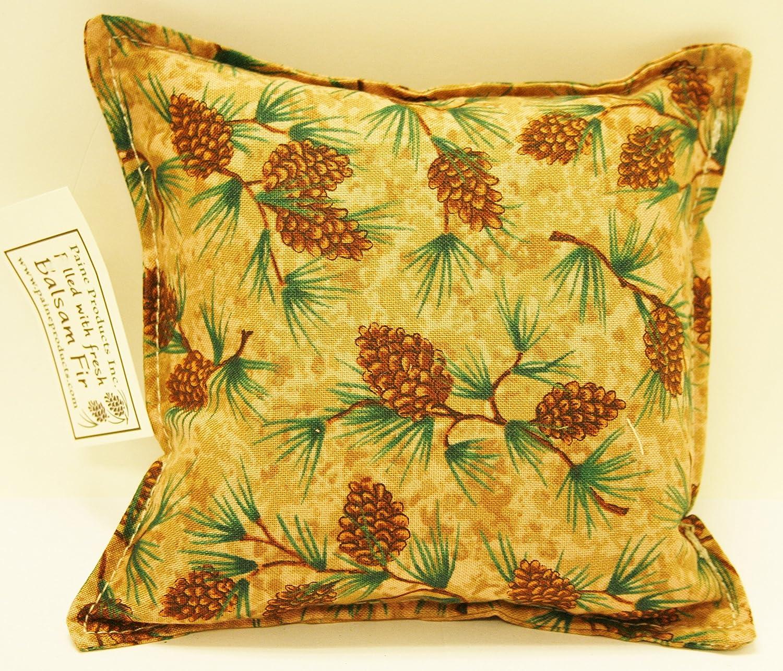 tree design decorative pillows for living room home goods.htm amazon com balsam fir pillow 5 x5  pine cone branches pine tree  amazon com balsam fir pillow 5 x5