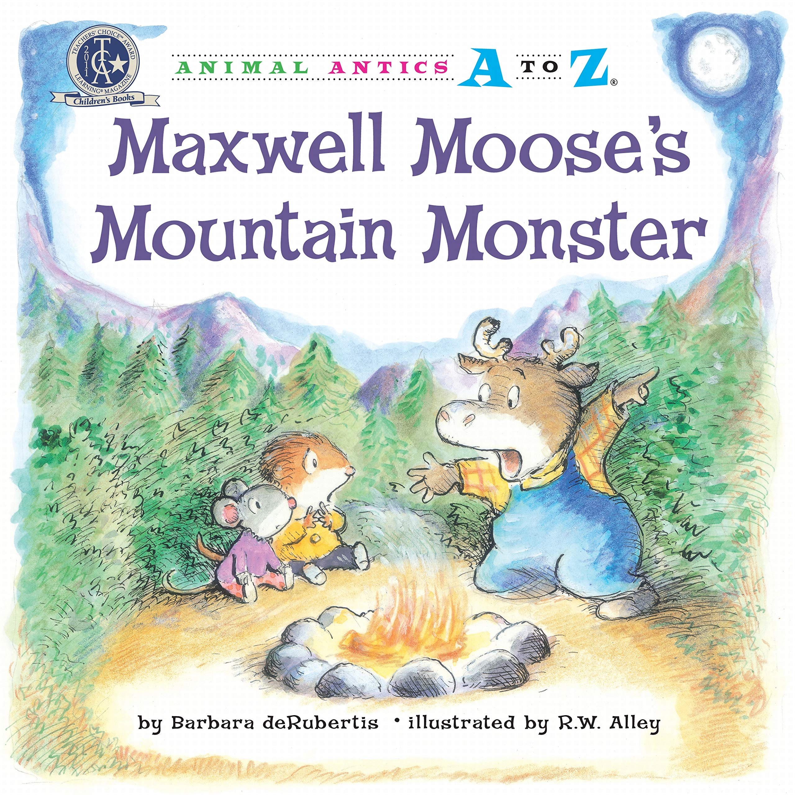 Maxwell Moose's Mountain Monster (Animal Antics A to Z) ebook
