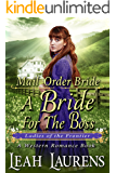 The Abused Bride For The Boss (Ladies of The Frontier) (A Western Romance Book)