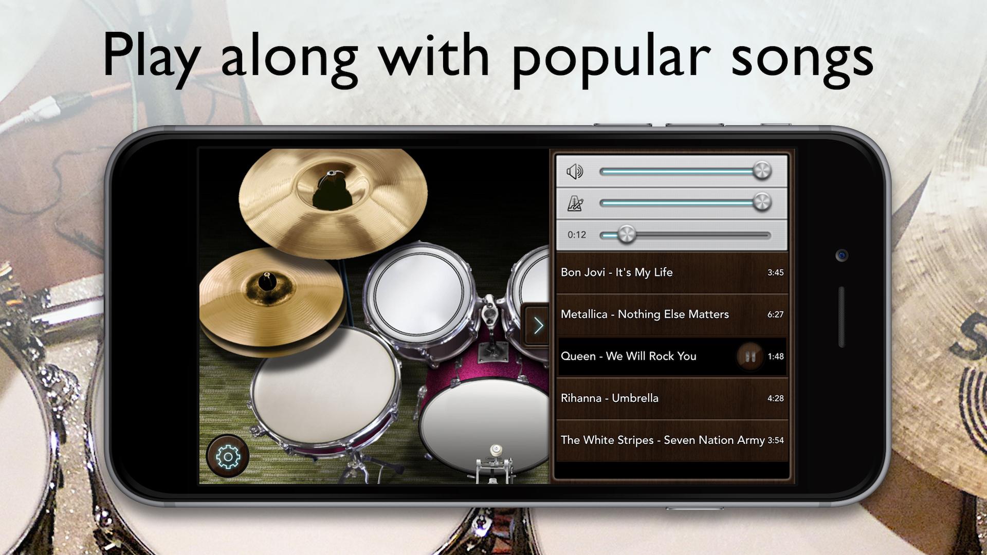 Drum Kit Music App : real drum set drums kit app free appstore for android ~ Hamham.info Haus und Dekorationen