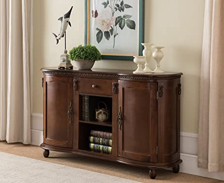 Amazon.com - Kings Brand Furniture Wood Buffet Server / Sideboard ...