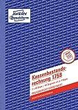 AVERY Zweckform 1758 Kassenbestandsrechnung (A5, selbstdurchschreibend, 2x40 Blatt) weiß/gelb