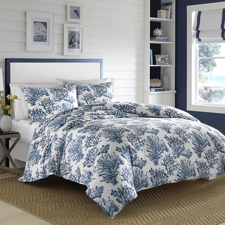 Nautica Cape Coral Comforter Set, Full/Qu inco, Blue