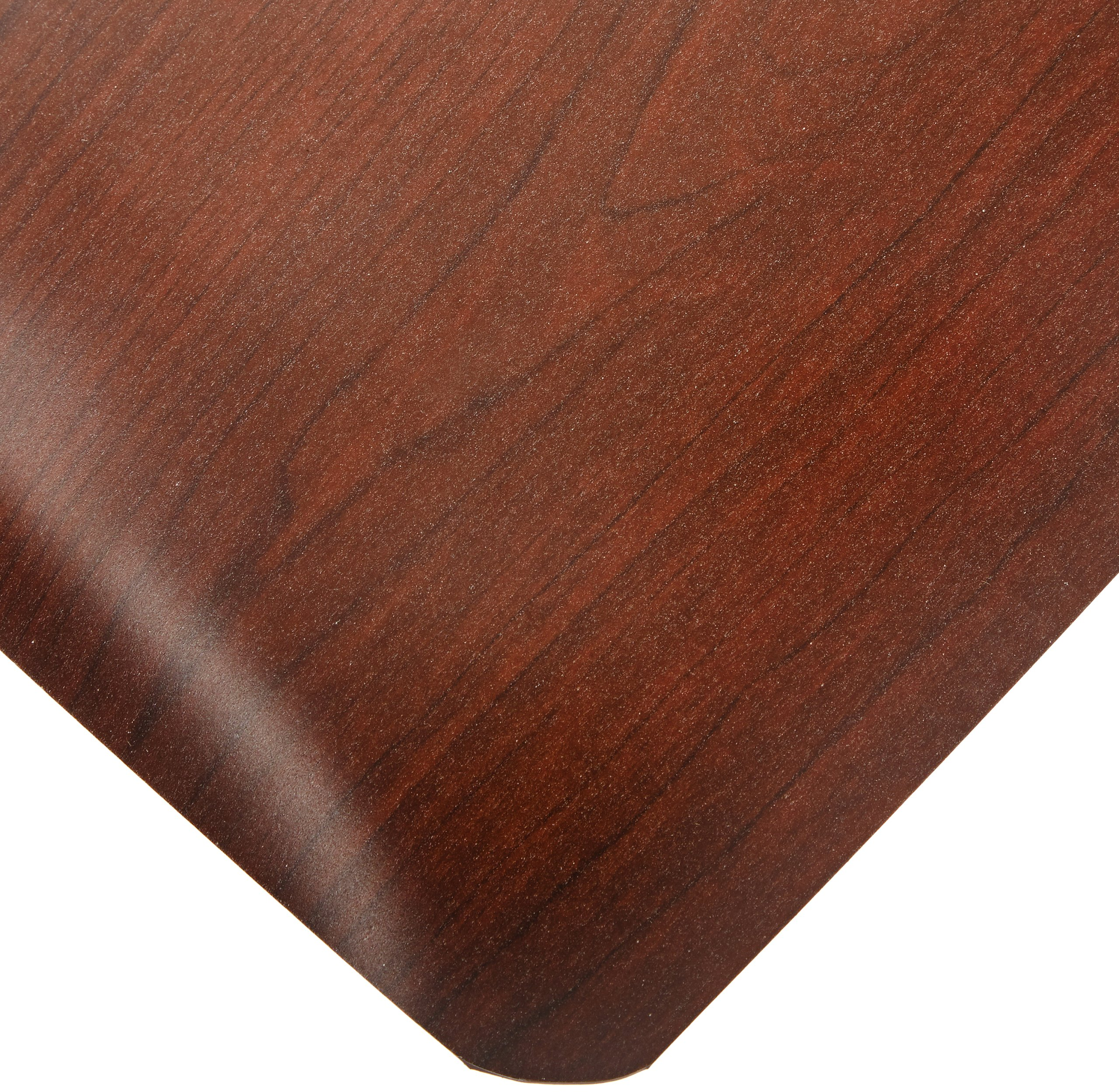 Rhino Mats SWT-3648RWN Softwoods Beauty Salon Rectangle Mat, 3' Width x 4' Length x 1/2'' Thickness, Walnut