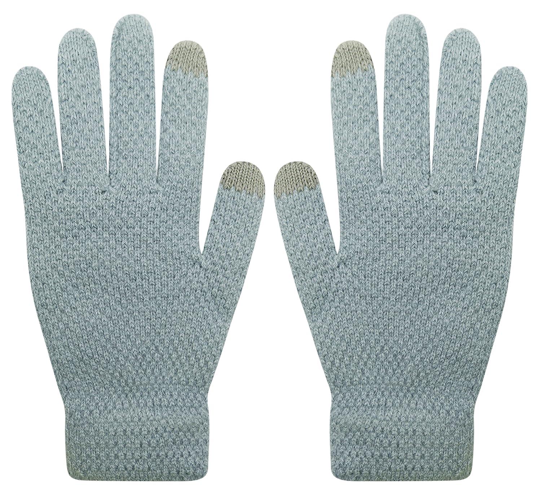 Gloves us ACCESSORY レディース B075WV6TVN  グレー