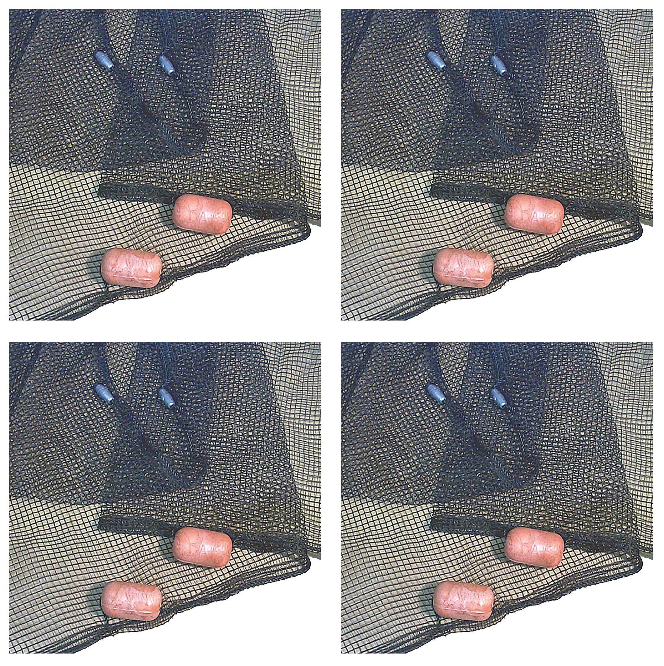 Frabill 2156 Minnow Seine 4'X 20' Net (Fоur Расk)