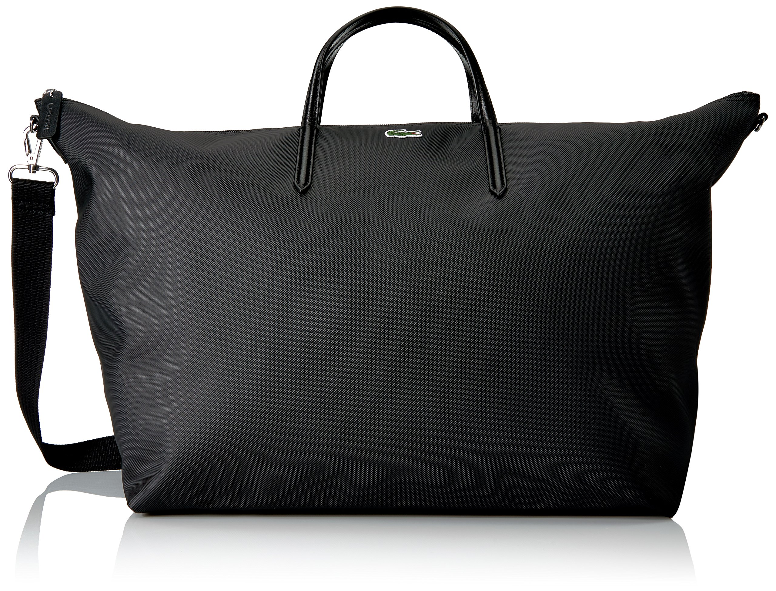 Lacoste L.12.12 Concept Travel Shopping Bag, 000 Black by Lacoste