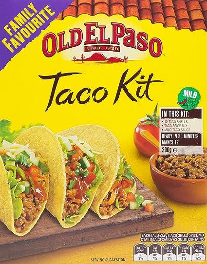 Old El Paso Taco Cena Kit