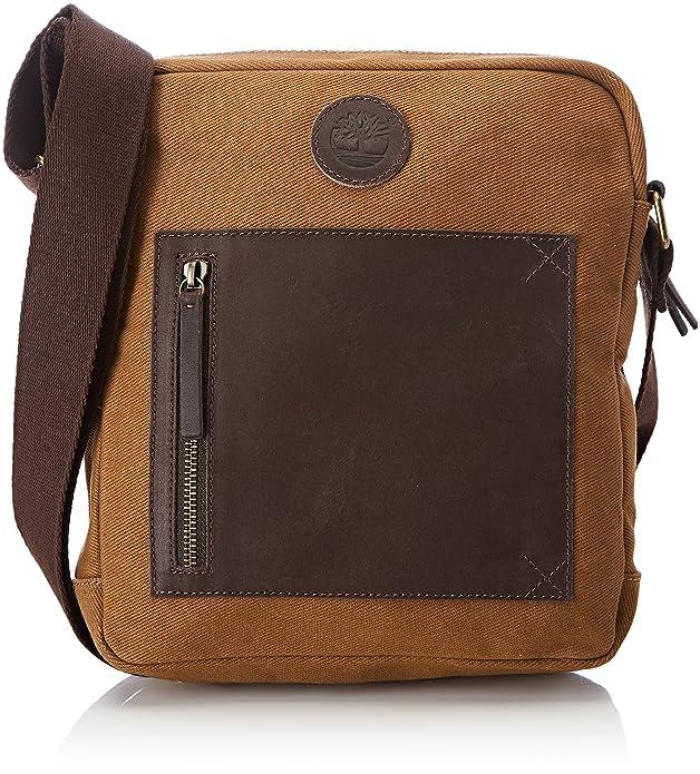 Timberland Small Cross Body Bag, Sacs portés épaule homme, (Black), 5x26x24 cm (W x H L)