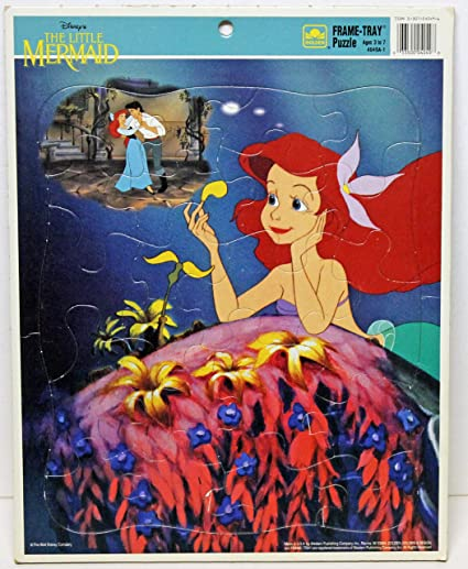 Amazoncom Disneys The Little Mermaid Frame Tray Puzzle Daydream