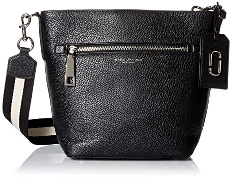 13b0b6c4ac7d Amazon.com  Marc Jacobs Gotham Bucket Black  Clothing