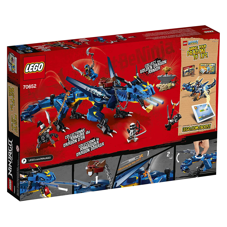 Stormbringer 70652 Building Kit 493 Piece LEGO NINJAGO Masters of Spinjitzu