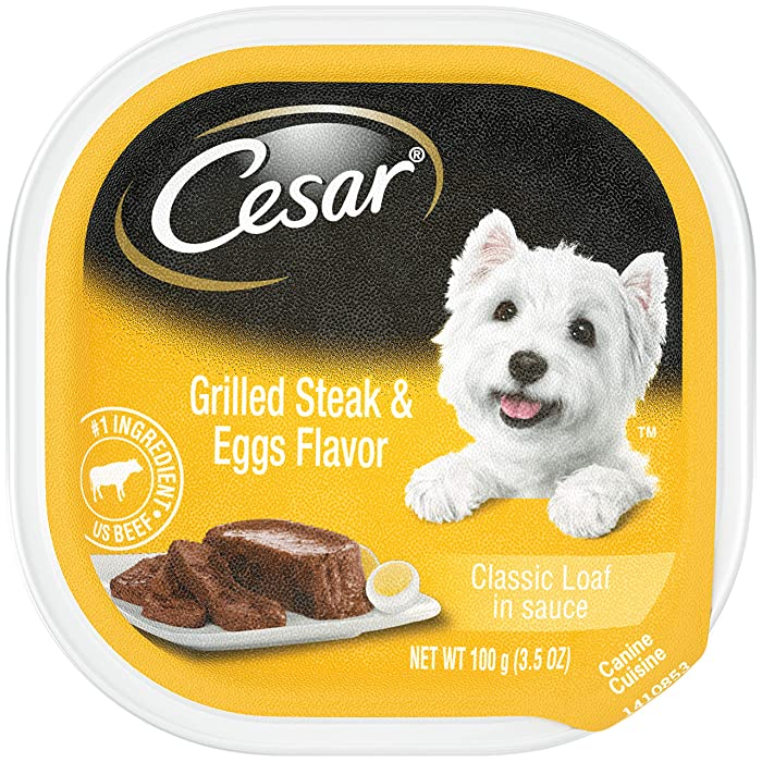 Cesar Breakfast Collection Wet Dog Food – 24 Trays