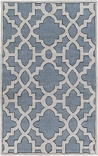 Surya Candice Olson by Modern Classics Hand Tufted Floral and Paisley Area Rug, 9-Feet by 13-Feet