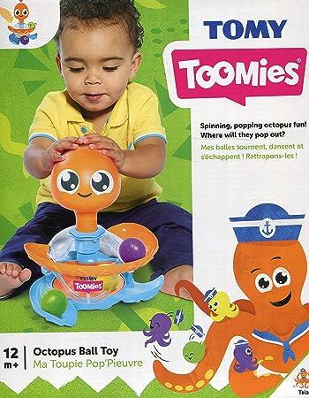 TOMY Spritziger Badespaß Wasserspielzeug Oktopus Spielzeug Kinder lernen spielen