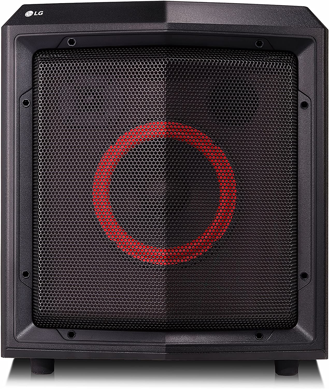 LG FH2 - Altavoz inalámbrico Mini Trolley (Bluetooth, 50 W, 15 horas autonomía) Color negro