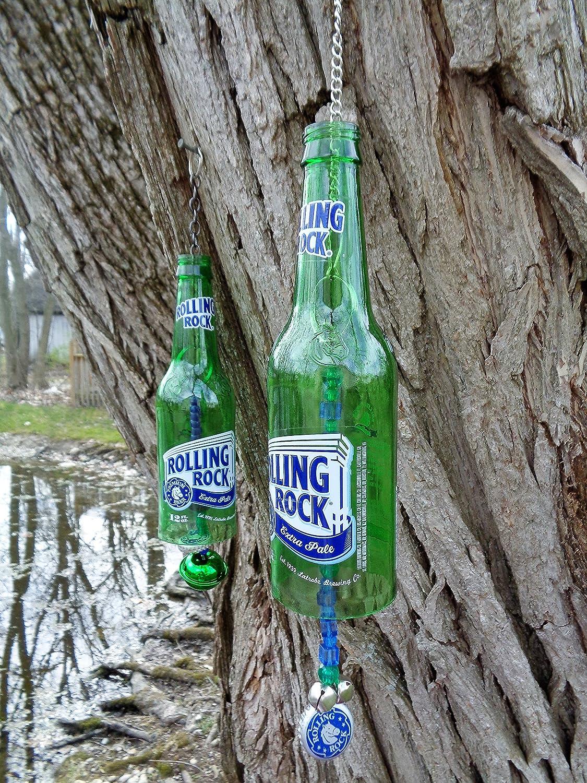 Rolling Rock Beer Bottle Wind Chime