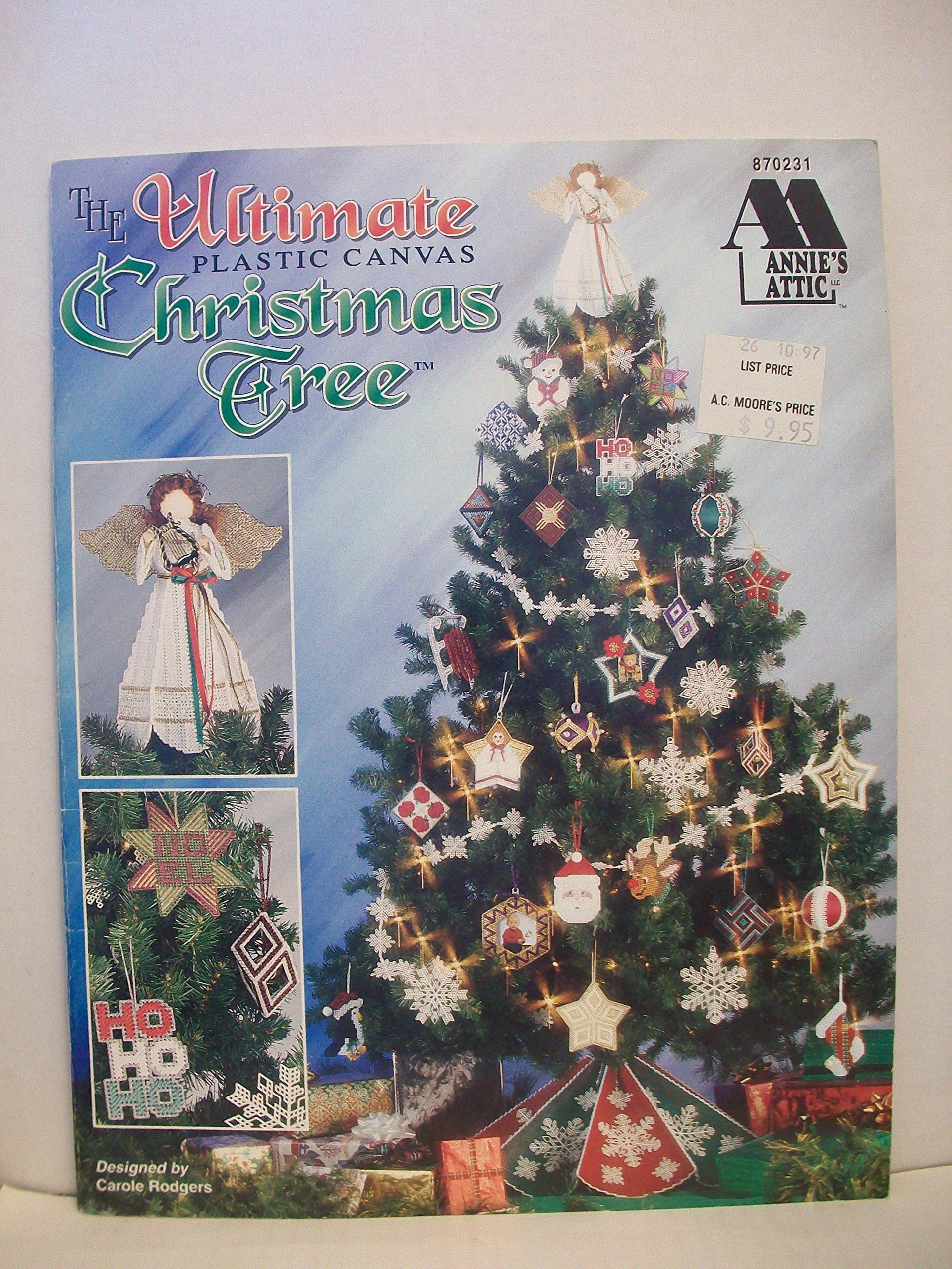 Plastic Canvas Christmas.The Ultimate Plastic Canvas Christmas Tree Carole Rodgers