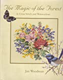 The Magic of the Forest in Cross Stitch and Watercolour