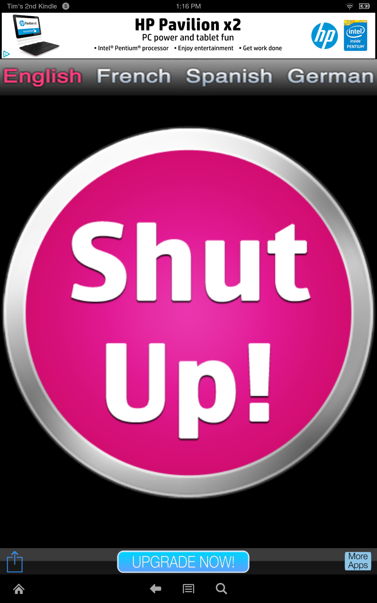 Amazon Com Shut Up Ladies Edition Appstore For Android