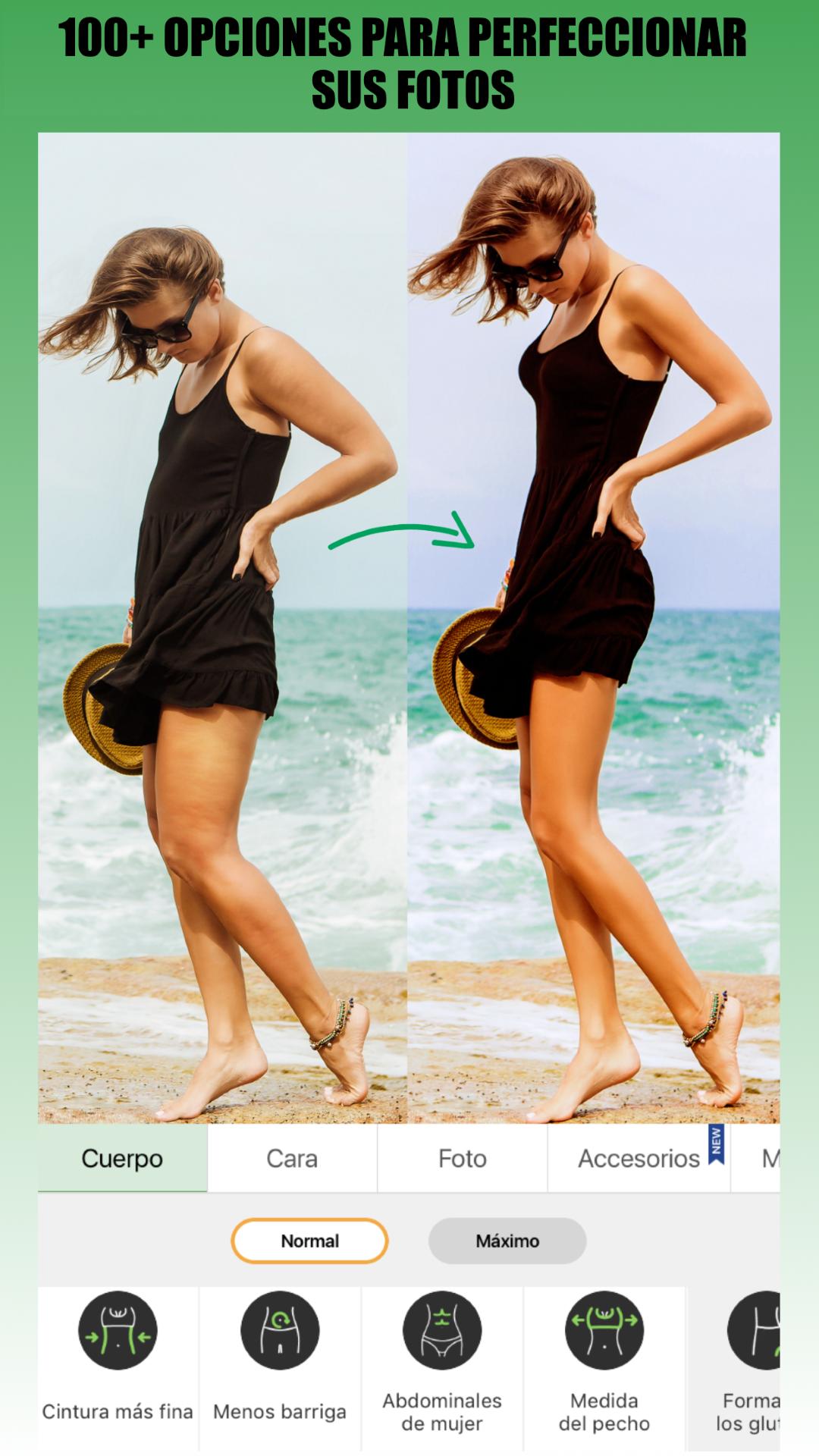 Retouch Me: cuerpo, cara & piel perfecta. Editor de fotos ...