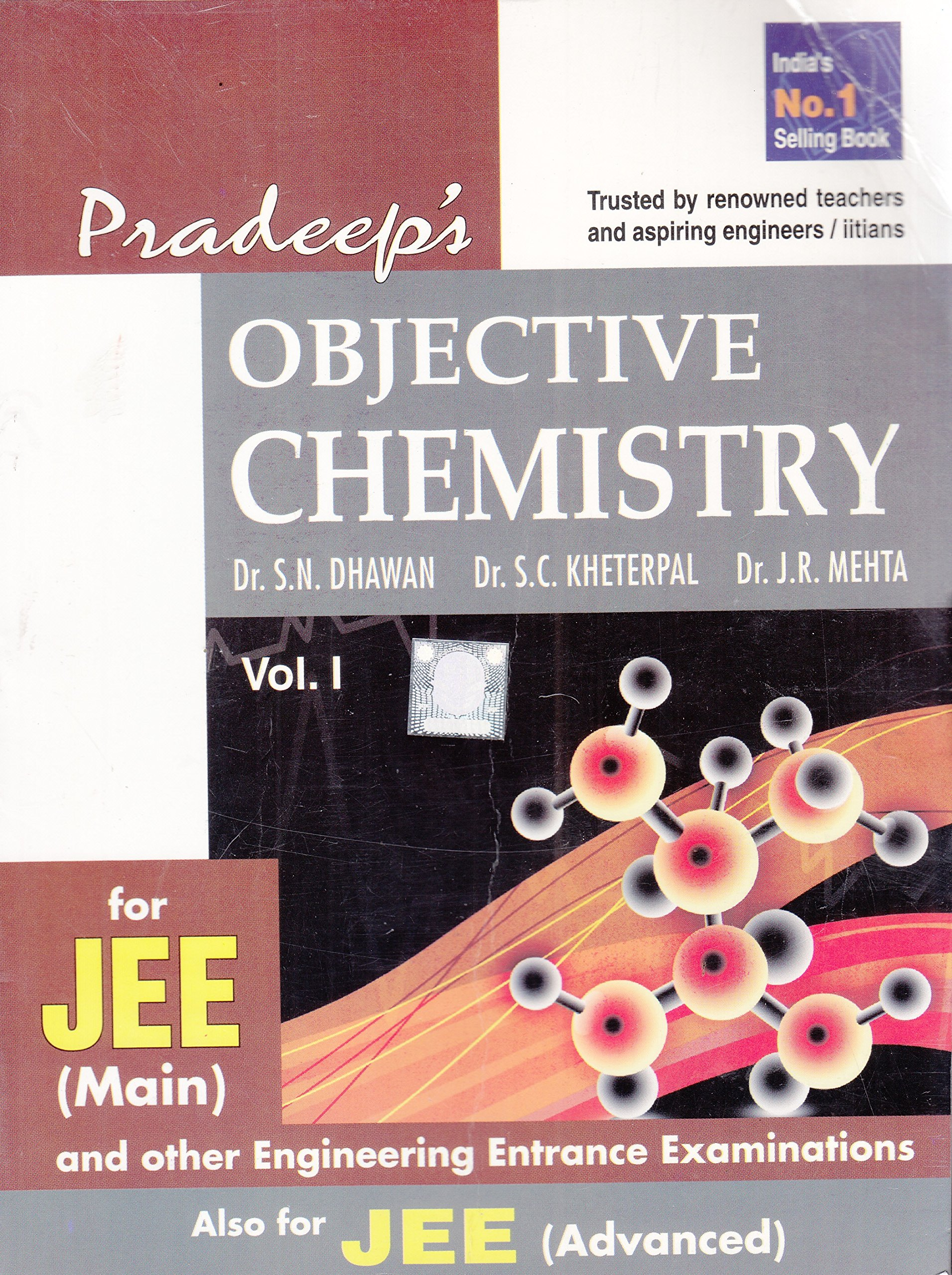Buy pradeep s objective chemistry for jee main vol i ii book online at low prices in india pradeep s objective chemistry for jee main vol