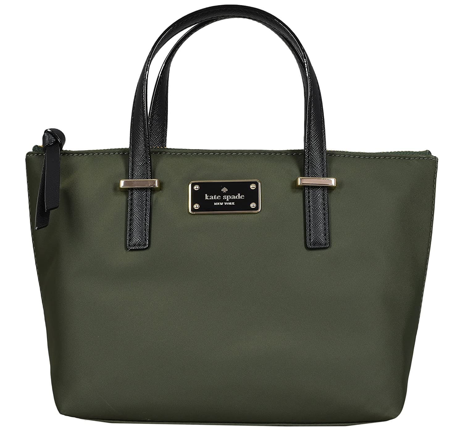 Kate Spade New York Adalyn Wlson Road Womens Nylon Mini Bag Evergreen