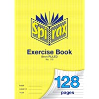 Spirax 110 A4 Exercise Book with 8MM Ruling (128 Pages)