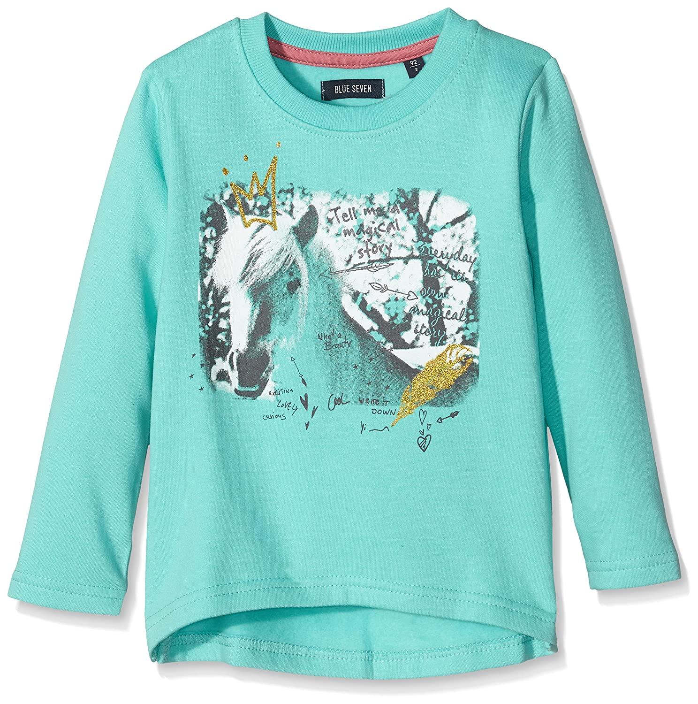 Blue Seven Mädchen Sweatshirt Pferde Motiv 764523 764523 X