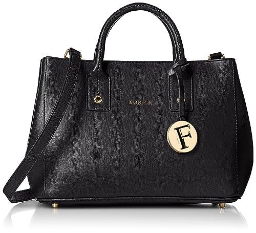 d93b5c60ec19 Furla Linda Mini Women s Tote Bag (Onyx)  Amazon.in  Shoes   Handbags
