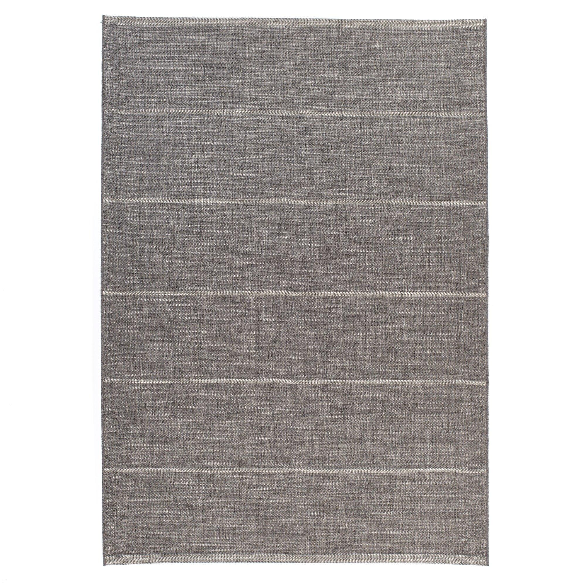 Carpet Art Deco Bay Club Collection Indoor Outdoor Rug, 5'3'' x7'5, Gray