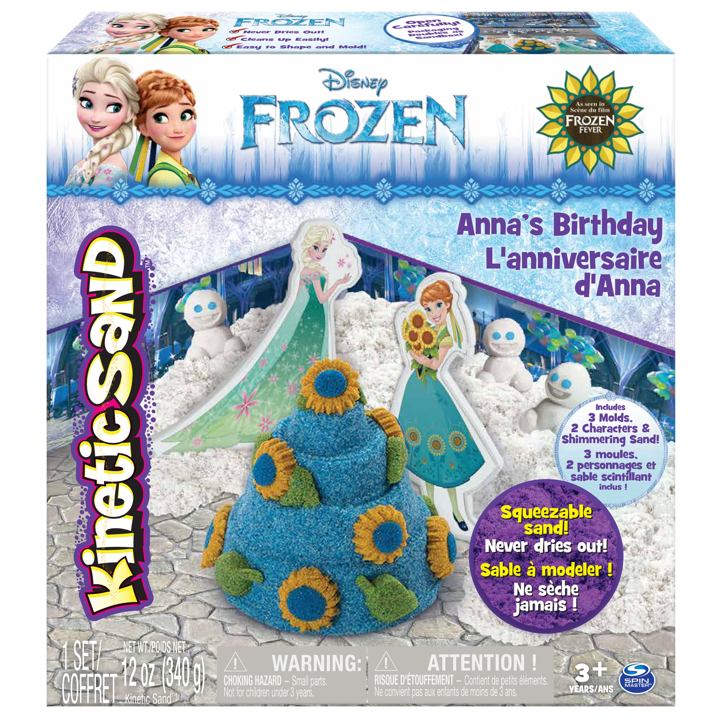 Kinetic Sand - Disney's Frozen - Anna's Birthday by Kinetic Sand