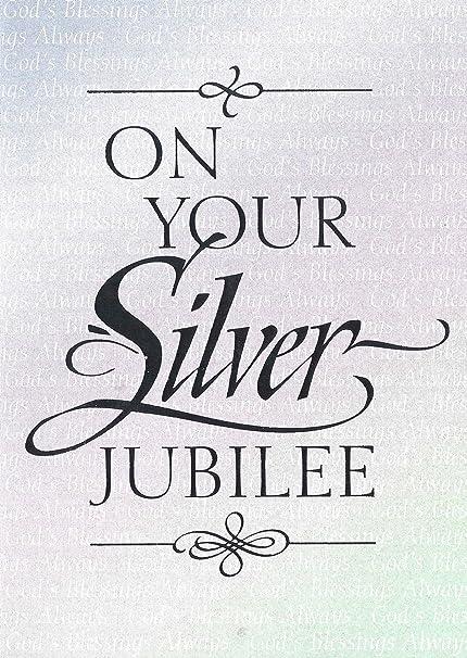 silver jubilee anniversary