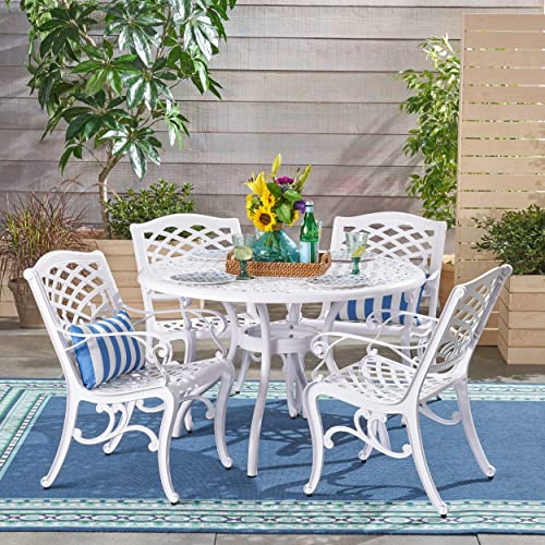 Christopher Knight Home 305468 Brody Outdoor 4 Seater Dining Set