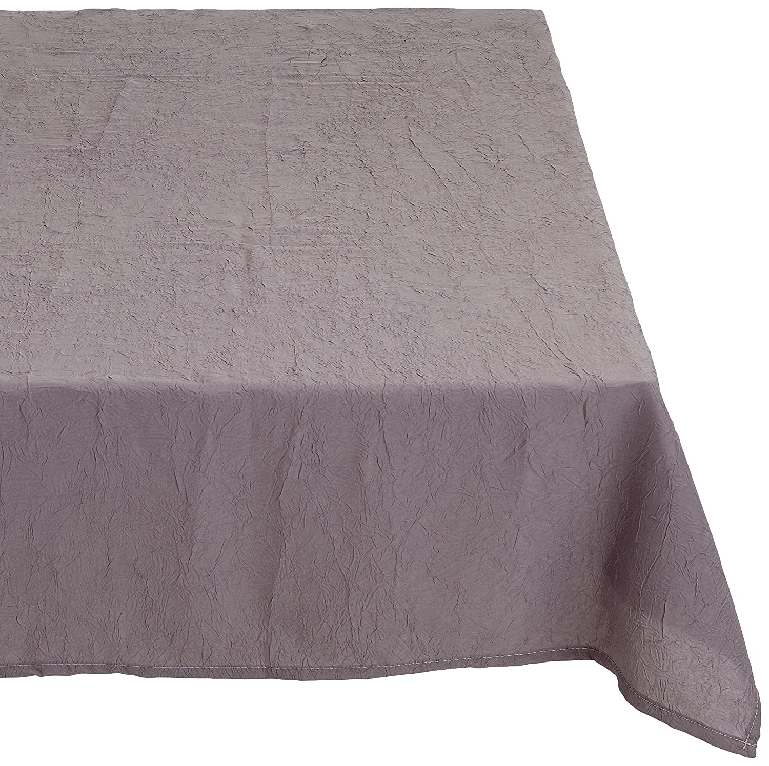 9bbd834b9ed868 ... Calitex S5D23GN661A Taffetas Froisse Nappe Polyester Taupe 180 x 180 cm  ...