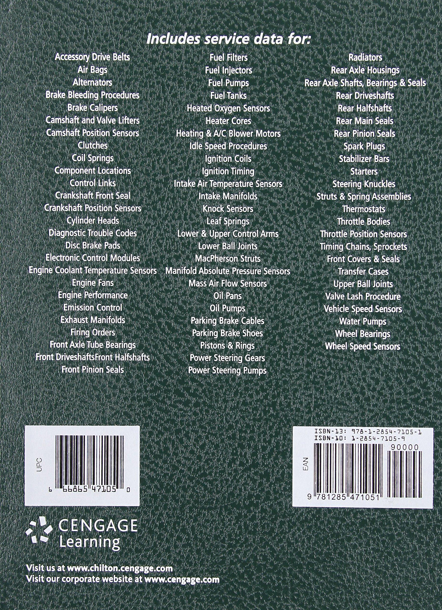 Chilton Asian Service Manual: 2012 Edition, Volume 1: Chilton Chilton:  9781285471051: Books - Amazon.ca
