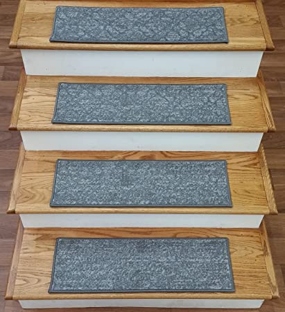 Beau Rug Depot 789451 Contemporary Non Slip Carpet Stair Treads   Set Of 15 Stair  Treads 26u0026quot